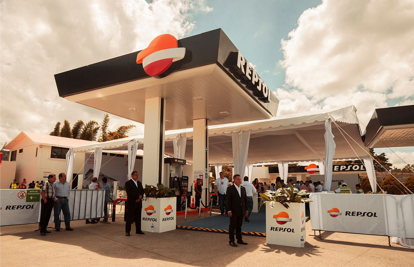 REPSOL OPENING OF PETROL STATIONS MEXICO